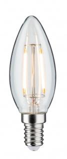 Paulmann 284.94 LED Kerze 4, 5W E14 230V Klar 2700K dimmbar