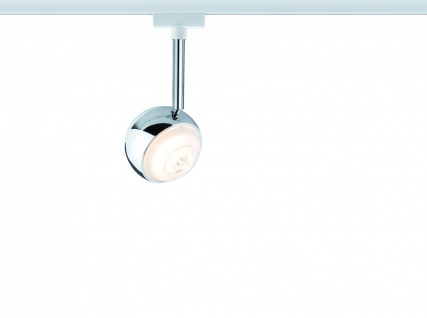 URail System LED Spot Capsule 1x4, 5W Weiß 230V Metall