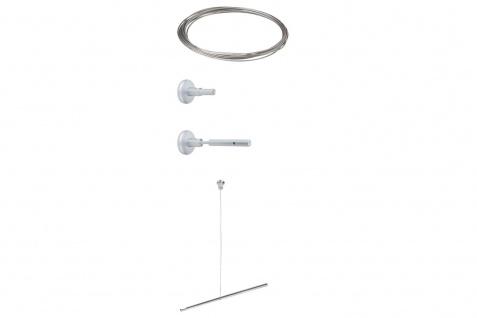 Paulmann Wire System HighWire Duo Erweiterung II 10m Chrom matt Metall