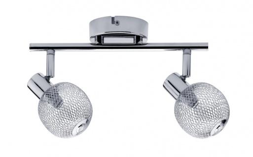 Paulmann 604.08 Spotlight Mesh 2x42W G9 Chrom 230V Metall