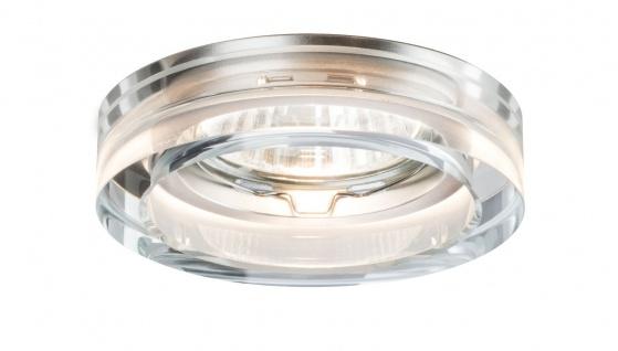 Paulmann Premium Einbauleuchte Set Cristal 3x35W 230V GU10 51mm Klar/Glas