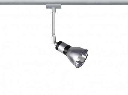 Paulmann 968.40 URail Schienensystem Light&Easy Spot Amfortas 1x42W G9 Titan/Alu 230V Metall