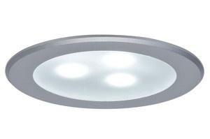 Paulmann Möbel Einbauleuchte high power LED 1x3W 3VA 230V/350mA 76mm Chrom matt