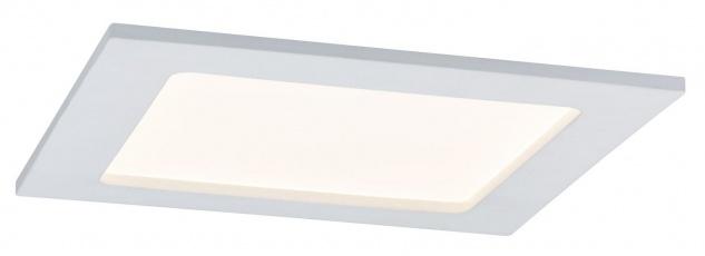 TIP Einbauleuchte Set Panel eckig LED 1x12W 230V 3000K 165x165mm Weiß/Kunststoff
