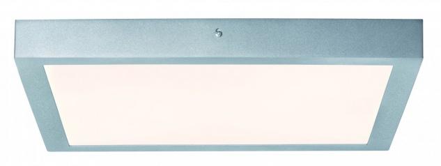 Paulmann 706.51 WallCeiling Lunar LED-Panel 400x400mm 21, 8W 230V Chrom matt Alu