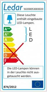 50200053003020 Ledar LED Wall Light Wandleuchte weiß 5 W 309 Lm 3.000 K IP20 - Vorschau 2