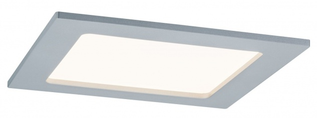 TIP 3979 Einbauleuchte Set Panel eckig LED 1x12W 230V 3000K 165x165mm Chrom matt/Kunststoff