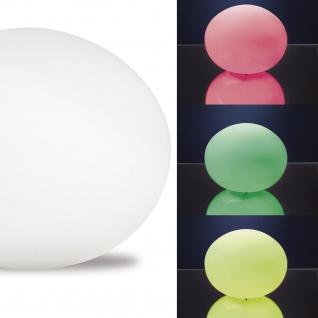 TIP Mood Ball LED Tischleuchte max.2, 0W Multicolor 230V Glas