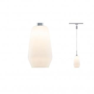 Paulmann URail Pendulum Remo II max. 1x25W GU10 Chrom matt/Satin 230V Metall/Glas