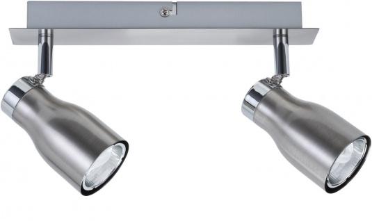 Paulmann 665.84 Spotlights Meli Balken 2x8W GU10 Nickel satiniert 230V Metall