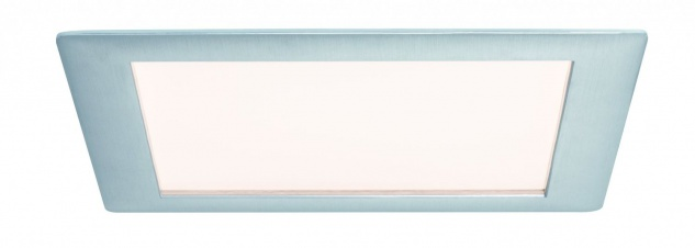 Paulmann 926.14 Premium Einbauleuchte Set Panel eckig LED 1x15W 2700K 15VA 230V/350mA 210mm Alu gebürstet/Alu