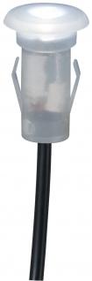 Paulmann Special Micro Boden Einbauleuchte Ergänzungsset IP67 5x0, 16W 12mm Satin/Kunststoff
