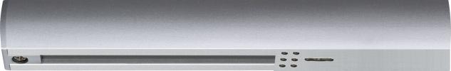 Paulmann URail Schienensystem Light&Easy Endeinspeisung max. 1000W Chrom matt 230V Kunststoff