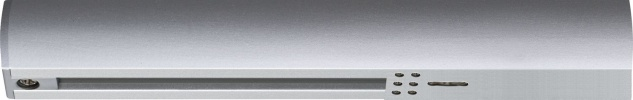 URail System Light&Easy Endeinspeisung max. 1000W Chrom matt 230V Kunststoff