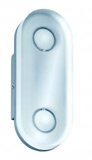 WallCeiling rund Theta IP44 LED 1x9W Alu eloxiert/Klar 230V Metall/Acryl