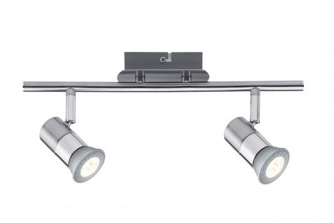 Nice Price 601.91 Nice Price Spotlight C12 LED Stange 2x3, 5W GU10 Chrom 230V Metall