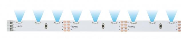 Paulmann 703.33 Function YourLED Sideview ECO Stripe 50cm Neutralweiß 2, 4W 12V DC Weiß