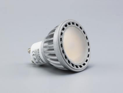 LED Leuchtmittel 8W GU10 3000K Warmweiss 230V 600lm Satin - Vorschau 2