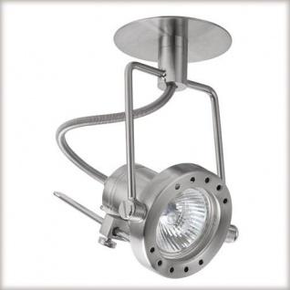 Paulmann 937.16 Quality Einbauleuchte Techno Spot max.50W 12V GU 5, 3 100mm Eisen gebürstet/Metall