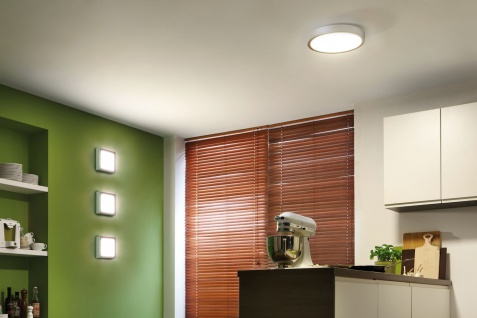 Paulmann WallCeiling Space LED-Panel 200x200mm 11W 230V Chrom matt/Weiß Kunststoff - Vorschau 4