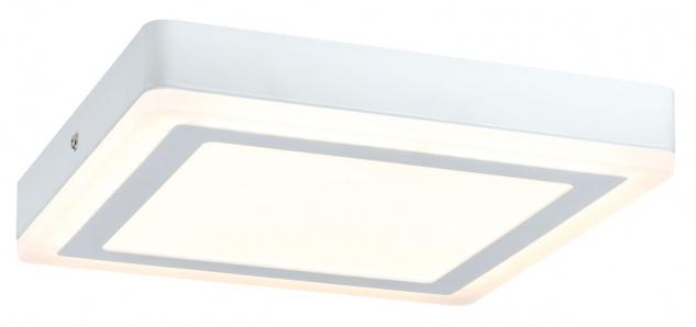Paulmann 707.33 WallCeiling Sol LED-Panel 12, 2W 245x245mm Weiß 230V Alu