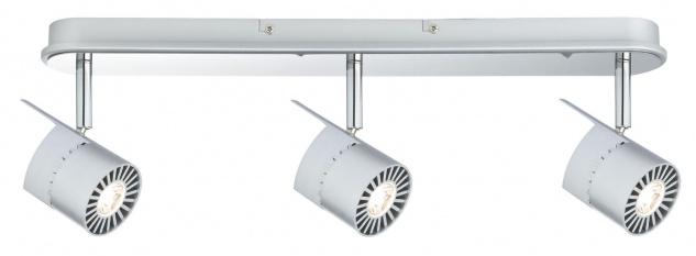Paulmann 601.65 Spotlights Power LED Balken 3x10W Chrom matt 230V Metall