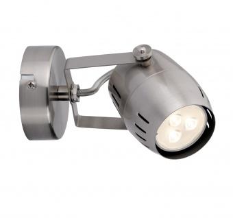 Paulmann 602.85 Spotlight Gamma LED 1x3, 5W GU10 230V Nickel gebürstet Metall