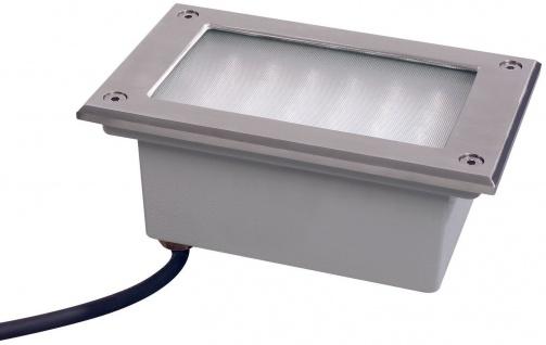 Paulmann Special Einbauleuchte Set Boden LED 3W 230V 165x103mm Edelstahl/Metall - Vorschau 1