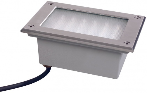 Paulmann Special Einbauleuchte Set Boden LED 3W 230V 165x103mm Edelstahl/Metall