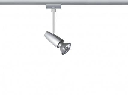 Paulmann 968.46 URail Schienensystem Light&Easy Spot Barelli 1x50W GU10 Titan 230V Metall - Vorschau 1