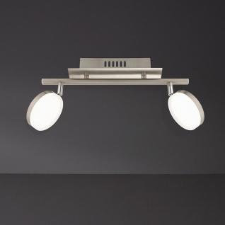 7893.02.54.0000 Wofi Deckenlampe Hook LED Deckenleuchte 2 x 8w 3.000 K 1.200 lm Chrom - Vorschau 2