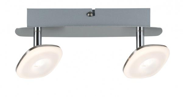 Paulmann 666.51 Spotlight Squarelense 2x3, 2W Nickel 230V Metall/Acryl
