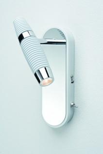 Paulmann Spotlight Channel LED Balken 1x10W Weiss/Chrom 230V Metall - Vorschau 3