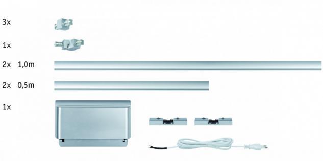 950.68 Paulmann U-Line ULine System Light&Easy Basissystem 150 Chrom matt 120/12V 150VA Metall