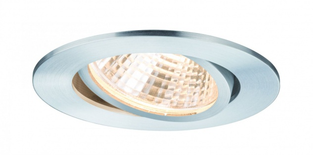 Paulmann Premium Einbauleuchte Set Daz schwenkbar LED 1x13W 350mA 15VA 92mm Alu gedreht Alu