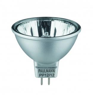 Paulmann Halogen Reflektor Akzent flood 38° 20W GU5, 3 12V 51mm Alu