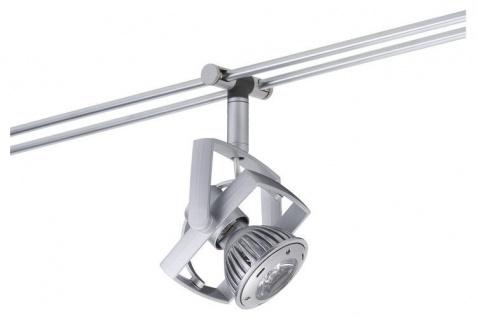 976.24 Paulmann Rail System Light&Easy Spot Mac² LED 1x1W GU5, 3 Chrom matt 12V Me