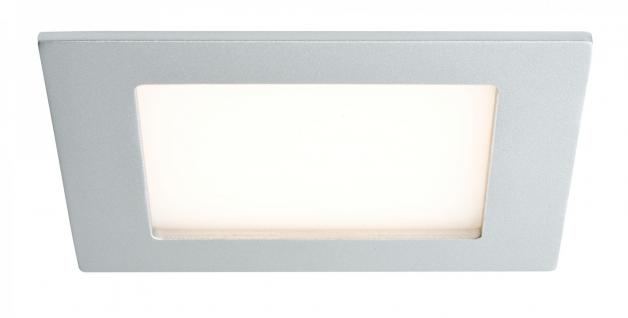 Premium EBL Set Areal eckig LED 3x2W 230V 90x90mm Chrom matt/Alu