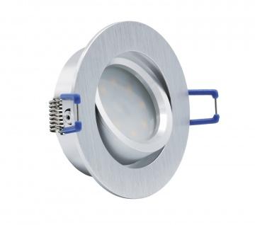 LED Einbauleuchte 4134 Alu 5W 3000K 230V Modul flache Einbautiefe 35mm - Vorschau 2