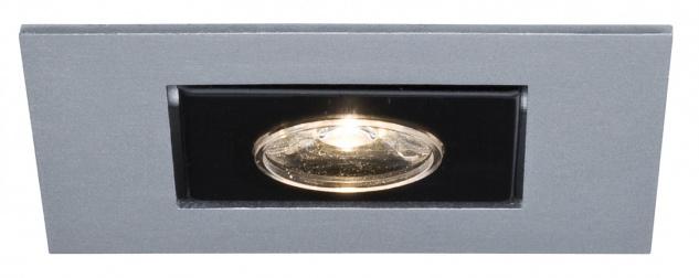 994.65 Paulmann Einbauleuchten Premium EBL Set Cardano LED 3x(1x1W) 230V Chrom matt/Alu