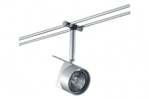 975.28 Paulmann 12V Einzelteile Rail System Light&Easy Spot EasyPower 1x50W GU5, 3 Chrom matt 12V Metall
