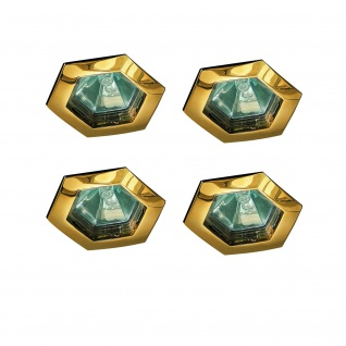 995.69 Paulmann Premium Einbauleuchten Set Hexa 4x35W GU5, 3 12V Gold