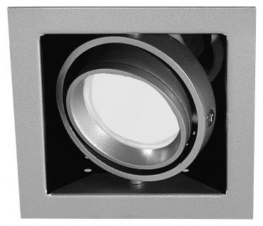 Paulmann Premium Einbauleuchte Cardano Energiesparlampe 1x11W 230V GU10 Titan