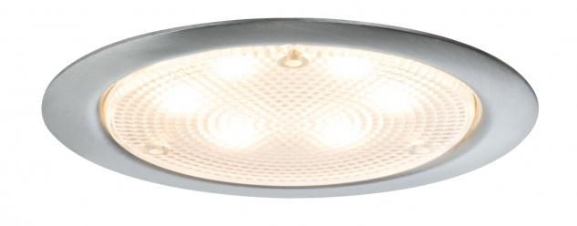 Paulmann 935.59 Möbel Einbauleuchte Set LED rund PIR Sensor Bewegungsmelder 3x2, 8W 12VA 230/12V 20mm Edelstahl