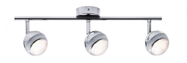 Paulmann 603.61 Spotlight Scoop LED 3x4, 6W Chrom 230V Kunststoff