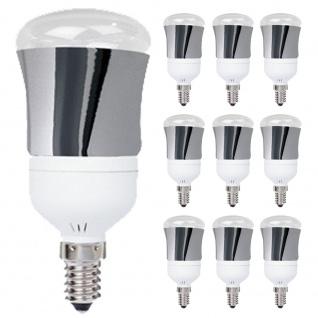 10 x 28014.10 Paulmann E14 Fassung LED R50 1W Tageslichtweiß