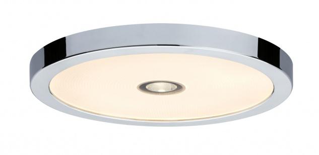 Paulmann 706.92 WallCeiling Beam LED-Panel IP44 300mm 13, 5W+2W 230V Chrom/Kunststoff
