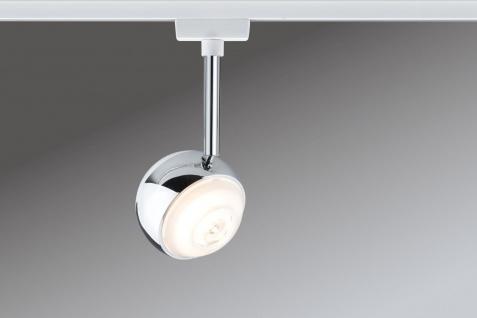Paulmann 952.79 URail Schienensystem LED Spot Capsule 1x4, 5W Weiß 230V Metall