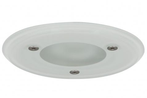 Paulmann 937.15 Premium Einbauleuchte Aqua Mood rund IP44 max.35W 12V GU5, 3 51mm Glas