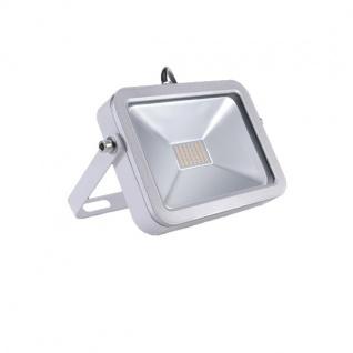 LED Fluter 20W 4000K Neutralweiss 230V 1800lm Silber